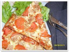 kuva: vyötäröesiin Lidl, Hawaiian Pizza, Pepperoni, Mozzarella, Nom Nom, Food, Keto, Essen, Meals