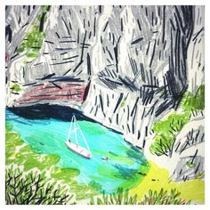 edith carron / Les calanques