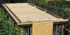 The Workshop Construction: The Green Roof – Herbidacious Sauna House, Timber Boards, External Cladding, Garden Workshops, Living Roofs, Timber Deck, Sand And Water, Garden Studio