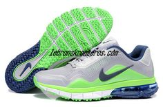 watch 811ab c53cd Nike Air Max TR 180 Mens Grey Neon Green Midnight Navy 537803 043