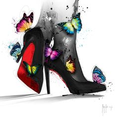 diamond painting Red Bottoms By Patrice Murciano Murciano Art, Canvas Art, Canvas Prints, Art Prints, Images Pop Art, Patrice Murciano, Geniale Tattoos, 5d Diamond Painting, Cross Paintings