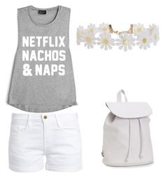 """""""Sin título #21"""" by reginaest on Polyvore featuring moda, Frame, Aéropostale y Humble Chic"""