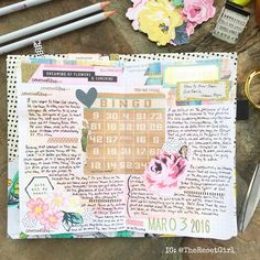 """1,360 Likes, 19 Comments - Cori Spieker  (@theresetgirl) on Instagram: """"Another layout in my faith journal (a @maydesigns book in a @mellonjournal dori) which I just…"""""""