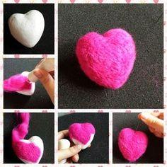 Kirstie Allsopp Needle Felting Kit Online Tutorials, Craft Tutorials, Needle Felted Animals, Felt Animals, Needle Felting Tools, Craft Box, Simple Shapes, Felt Art, Hobbies And Crafts