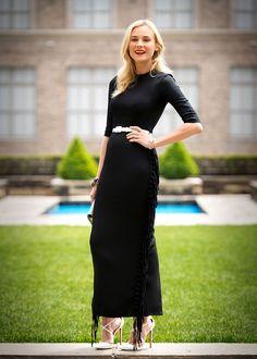 Diane Kruger en un look SS13 de Alessandra Rich, en el lanzamiento del nuevo cortometraje de Jaeger-LeCoultre, el 6 de mayo del 2013 en Nueva York.