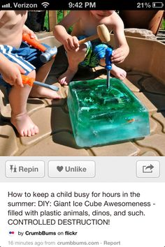 Summer time fun for the little ones