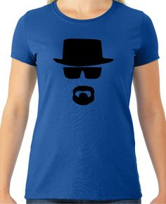 Now available on our store Heisenberg Face B... Check it out here!http://www.tshirtmegastore.com/products/heisenberg-face-breaking-bad-ladies-t-shirt