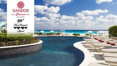 Sandos Cancun Luxury Resort - All-Inclusive - One of a kind hotel presenting the right blend of beauty, elegance and understated luxury allowing for the most discerning travelers to fully relax.