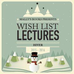 MALLY'S BOOKS: Ma Wish-list d'hiver - 33 envies de lectures au coin de la cheminée !