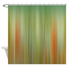 Abstract Watercolor Shower Curtain on CafePress.com