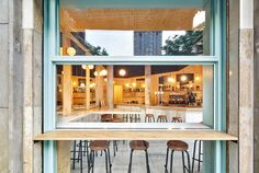 Gallery of Sandwich Bar Blitz / FLEXOARQUITECTURA - 5