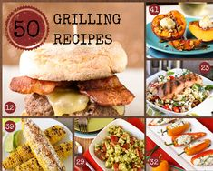 50 Summer Grilling Recipes - Garnish with Lemon