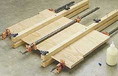 Edge-Gluing Tip for Woodworking