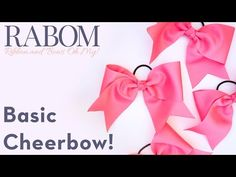 rabombasiccheerbow   Ribbon And Bows Oh My!