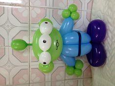 Balloon Little Green Man