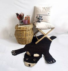 Bear Rug for Childrens Room by MyOwnLittleIndian on Etsy, €55.00