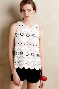 Greylin Walina Lace Top, anthrofave $98. Want!!!!