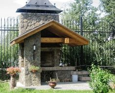 Ideas Bbq Patio Ideas Pizza Ovens For 2019 Outdoor Oven, Outdoor Pergola, Diy Pergola, Diy Patio, Backyard Patio, Patio Ideas, Bbq Ideas, Wood Patio, Concrete Patio