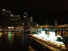 Darling Harbour, Sydney - great place at night