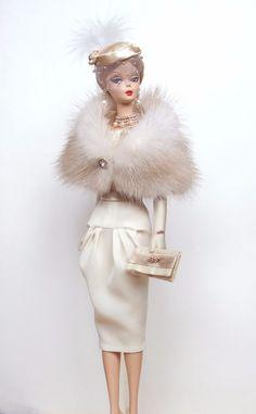 OOAK Fashion for Silkstone/Vintage Barbie or Fashion Royalty by M_L in | eBay
