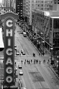 State Street The Chicago Theater My little brother was having a special day with our aunt. She took him to the Chicago Theater for a movie.early And Jackie Gleason, still unknown, was doing a vaudeville act on stage before the movie began. Visit Chicago, Chicago Travel, Chicago City, Chicago Area, Chicago Illinois, Hard Rock Chicago, Barack Obama, Alaska, Chicago Photos