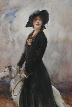 .:. Walter Ernest Webster; Lady Diana. British, 1878-1959