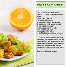 Healthy Asian Chicken!