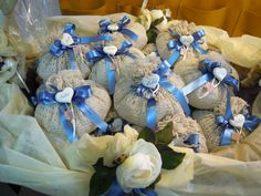 Compositions wedding favors made by us. Contact us at: info@lemanisannomentana.it