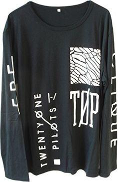 NBDIB Men's Long Sleeve T Shirt Twenty One Pilots Print Vetement Homme (M, Black 1) NBDIB http://www.amazon.com/dp/B018FMIFG0/ref=cm_sw_r_pi_dp_64dNwb0P694MX