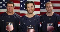 U.S. Olympic men's hockey team for Sochi 2014