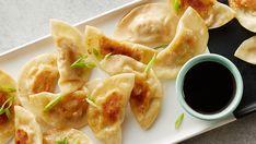 Delicious little dumplings packed with lemon chicken filling.                  l