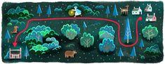 Laura Secord's 239th Birthday #Canada #google #googledoodle