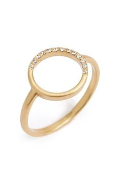 Madewell Open Circle Ring available at #Nordstrom