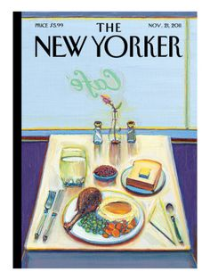 When I subscribed to the New Yorker, it was mostly for the covers.  and cartoons.  Sometimes I read the articles.