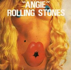 """Album cover art of The Rolling Stones' """"Angie"""""""