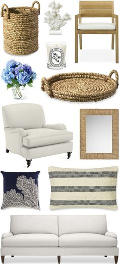 CHIC COASTAL LIVING: BEACH HOUSE DESIGN // SOMETHING'S GOTTA GIVE PART 2