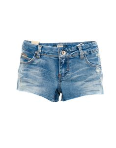 Pull&bear Denim Shorts in Blue (PALE BLUE) | Lyst