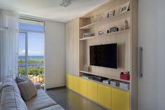 Apartamento moderno em Rio de Janeiro realizado por Carolina Mendonça, Arquitetura, Decoração, Designer de interiores.