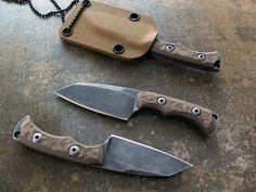 Fixed Blades - Dervish Knives