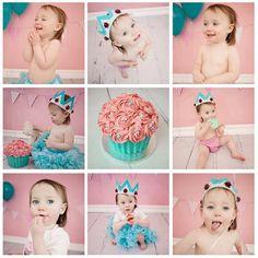 Cake Smash' Giant Cupcake cakepins.com