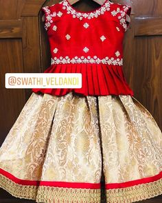 Call/watsapp for details Source by smritimora Blouses Kids Party Wear Dresses, Kids Dress Wear, Kids Gown, Little Girl Dresses, Kids Wear, Girls Frock Design, Baby Dress Design, Baby Girl Frocks, Frocks For Girls