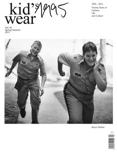 20th Anniversary issue VOL. 40 Cover by Bruce Weber