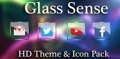 Glass NOVA / APEX / ADW Icon Pack v2.7