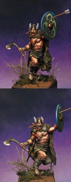 CoolMiniOrNot - Viking warrior by dieguete