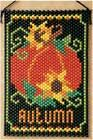 FALL PUMPKIN BANNER Designed by Lori Pate-Greene for the Beadery