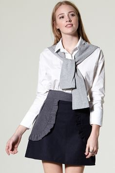 c3403562e5414 Delly Cardigan Shirt Discover the latest fashion trends online at  storets.com. One Shoulder ...
