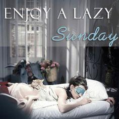 Enjoy a lazy Sunday! Lazy Sunday, Saturday Sunday, Sunday Funday, Sunday Morning, Good Morning, Hello Sunday, Hello Weekend, Morning Post, Lazy Days