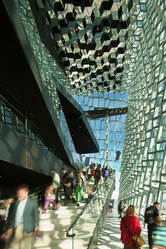 Harpa, the Reykjavik Concert Hall and Conference Center | Henning Larsen Architects, Batteríið Architects, Studio Olafur Eliasson; Photo: Nic Lehoux | Bustler