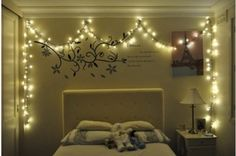 Lights in the bedroom