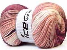 Ice Magic Light, 33052, Purple, Lilac, Camel, White by GoodFiberYarns on Etsy https://www.etsy.com/listing/249660643/ice-magic-light-33052-purple-lilac-camel